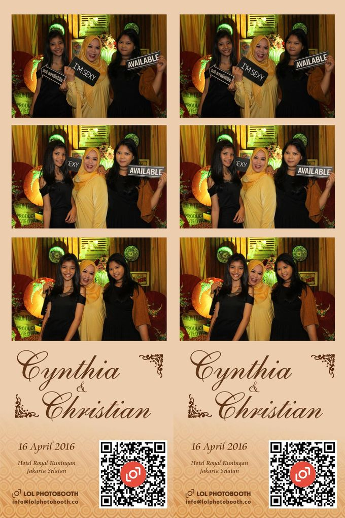 Wedding of C & C by lolphotobooth.co - 007