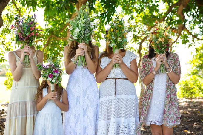 Paige & Pauls Boho Wedding by Dream Bella Photography - 008