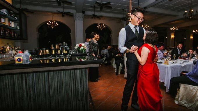 Wedding of Ian & Kelly @ Halia at Raffles Hotel by The Halia - 008