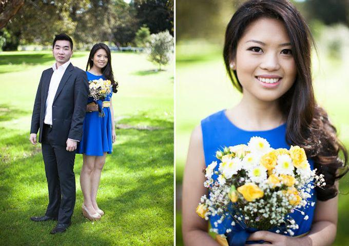 Sunshine outdoor wedding by SS Florist - 008
