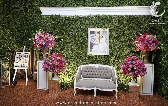 Life began in a garden by Orchid Florist and Decoration - 009