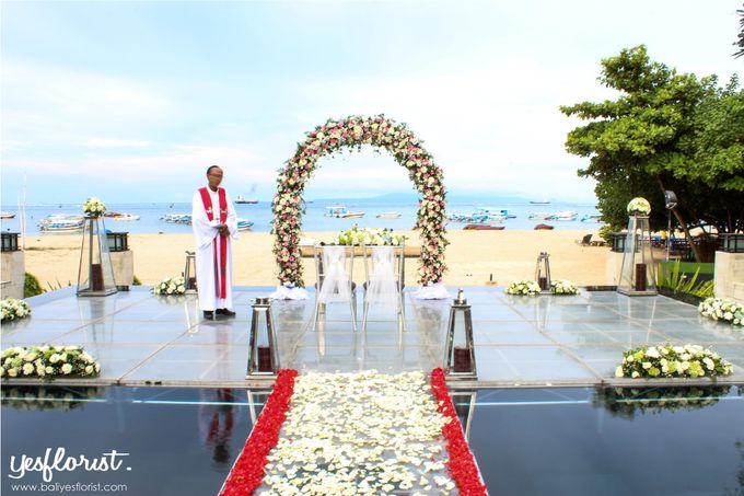 Wedding of Simon & Oleksandra by Bali Yes Florist - 001
