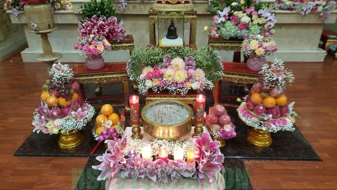 Pemberkatan di Vihara by Home Smile Florist - 008