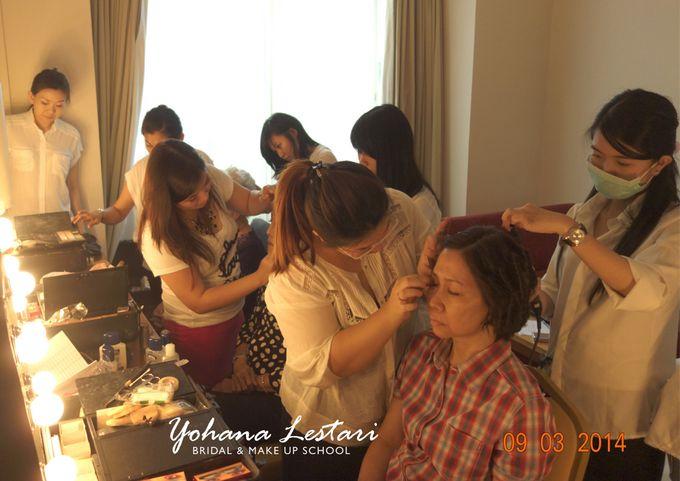 MAKE UP SCHOOL ( terjun lapangan ) by Yohana Lestari Bridal & Make up School - 006