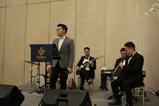 Mc Entertainment Wedding Sheraton Gandaria - Anthony Stevven  with Double V Entertainment Jakarta by Anthony Stevven - 010