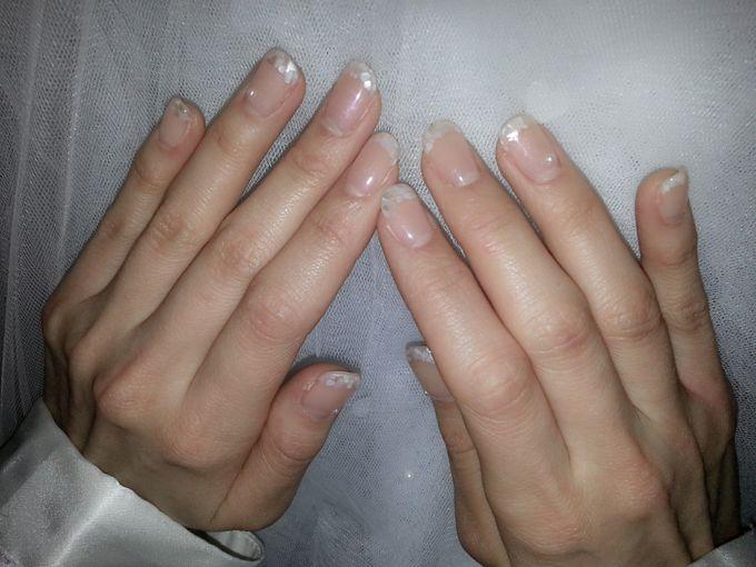 Stella Rissa wedding nails by Luz Bello 3D Nail Art-Extension - 002
