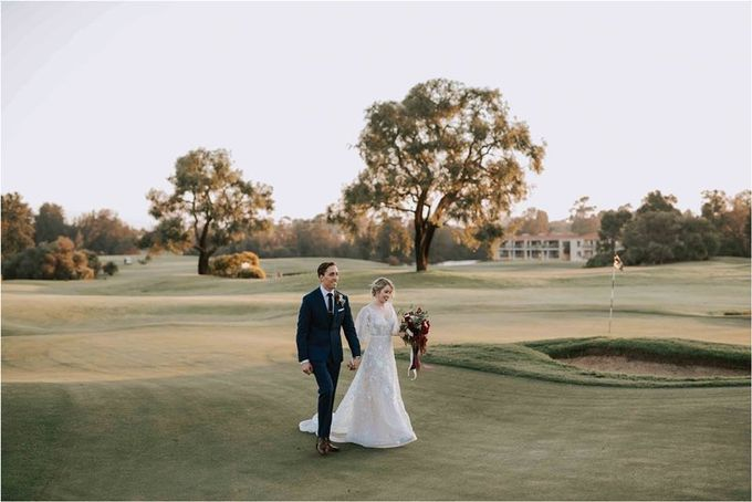 Spring Wedding at the Vines Country Club in the swan Valley Sarah & Glen by Anna Campbell - 030