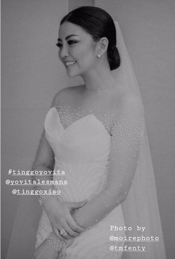 TINGGO YOVITA WEDDING by bridestore indonesia - 002