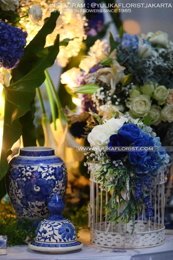 BLUE-WHITE-CHINOISERIE by Yulika Florist & Decor - 002
