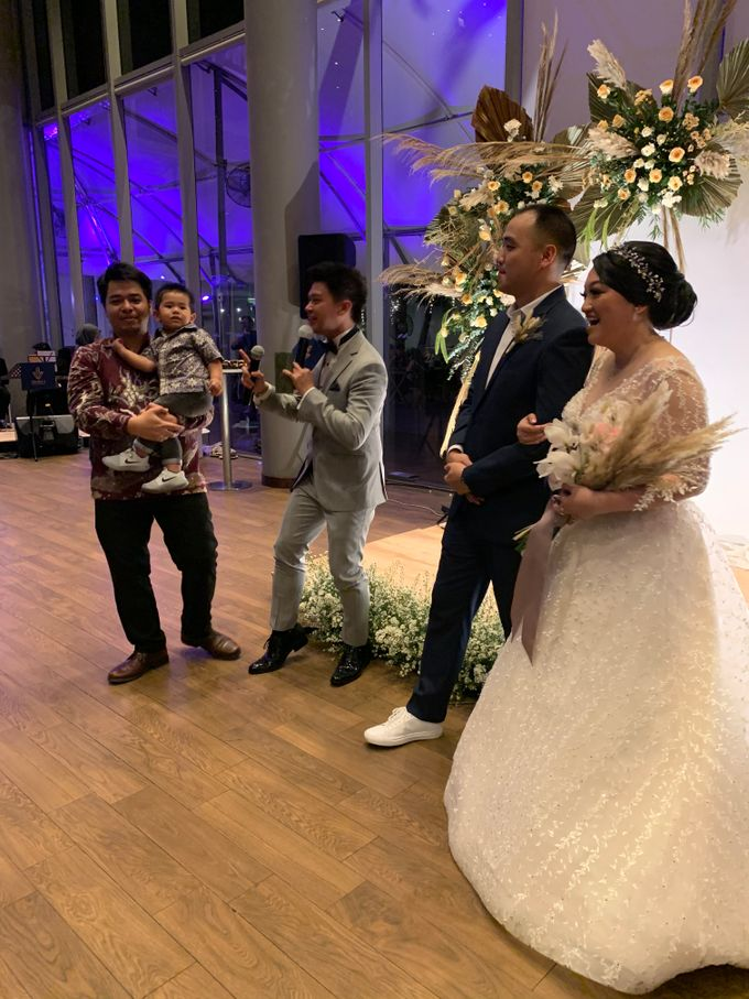 Jazz Wedding Entertainment - Double V  Entertainment with Anthony stevven MC  Intimate Open Restaurant Double Tree Jakarta by Anthony Stevven - 011