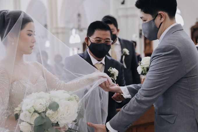 The Wedding of Alvin & Febriyana by Lavene Pictures - 016