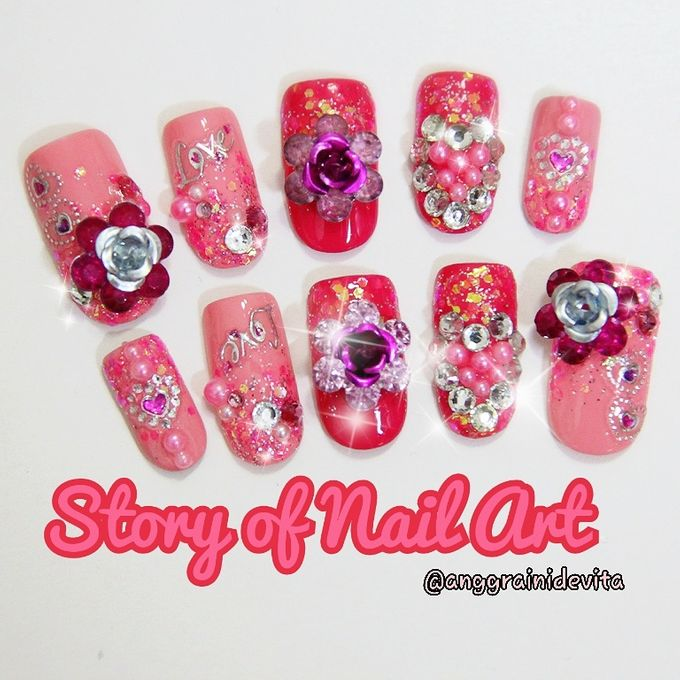 Fake Nails by Story of Nailart - 021