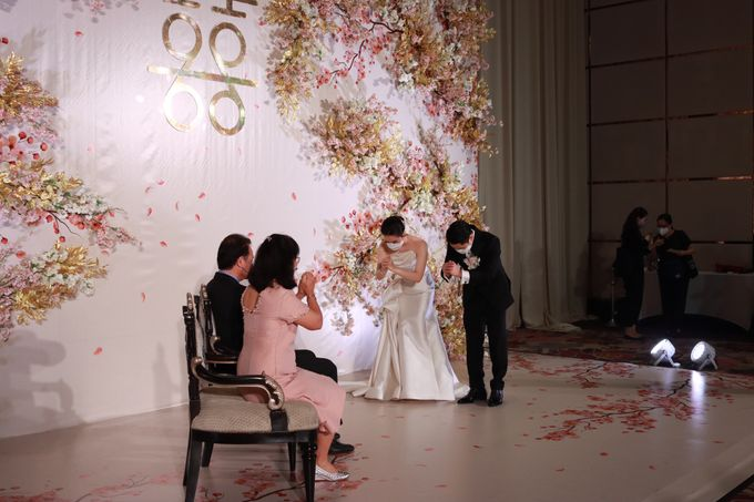 MC Teapai and New Normal Intimate Wedding Fairmont Hotel Jakarta - Anthony Stevven by Anthony Stevven - 013