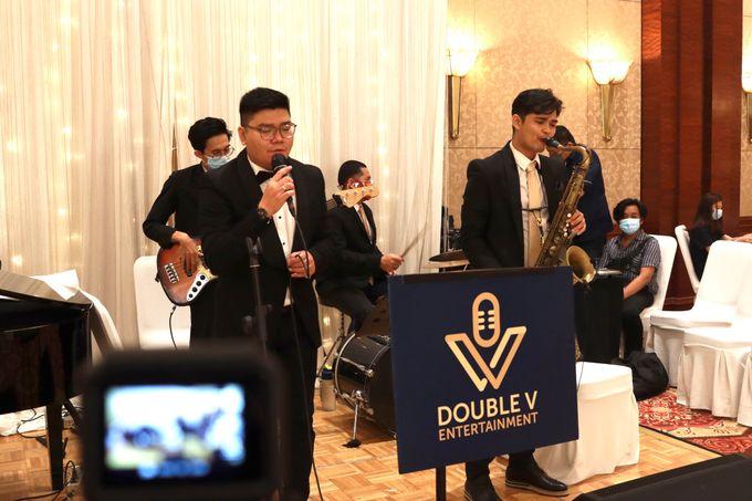 Entertainment Jazz Wedding JW Marriott Jakarta - Double V Entertainment by EIFFEL CAKE - 021