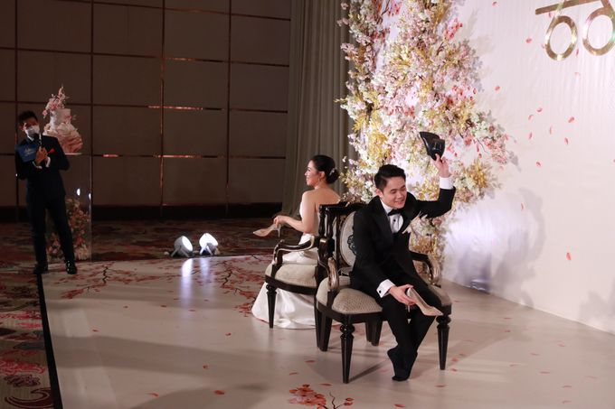MC Teapai and New Normal Intimate Wedding Fairmont Hotel Jakarta - Anthony Stevven by Anthony Stevven - 021