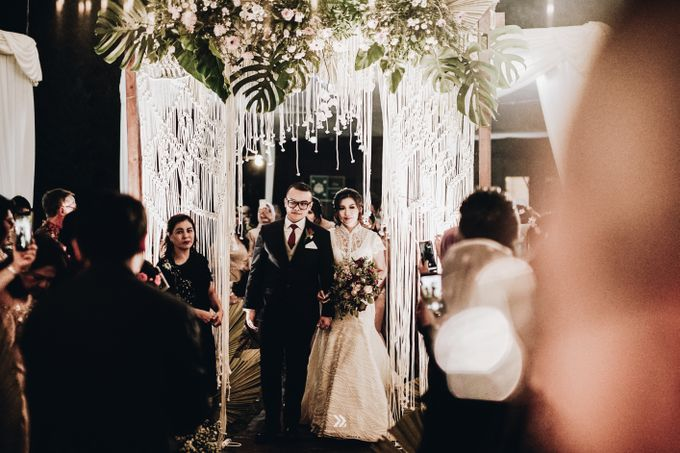 The Wedding of Lidia Dhany by Elior Design - 021