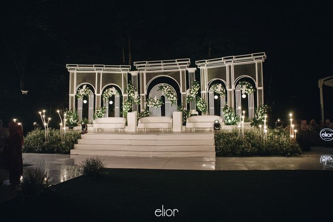 The Wedding of Bela and Didi by Elior Design - 008