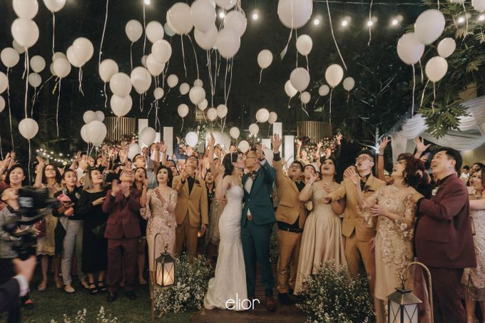 The Wedding of Gian & Angel by Elior Design - 010