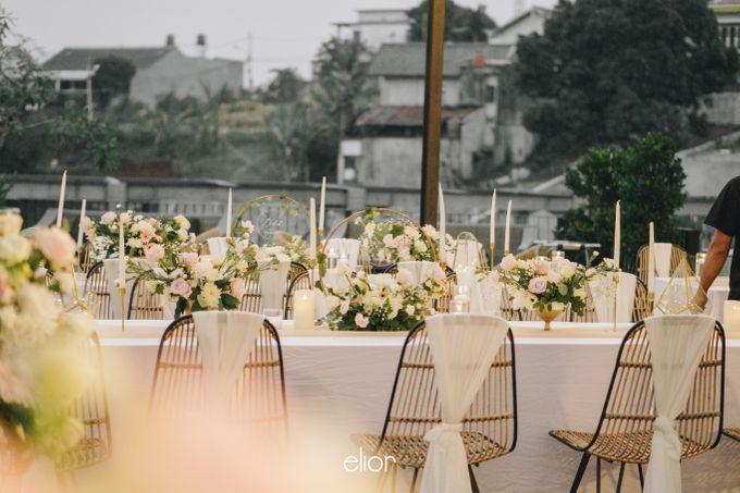 The Wedding of Novilia & Didik by Elior Design - 003