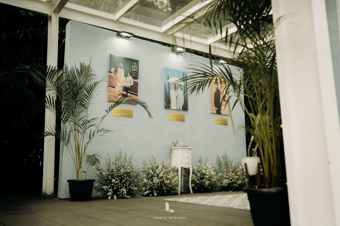 Wes Anderson Wedding Theme of of Nazura & Ichsan by Elior Design - 001