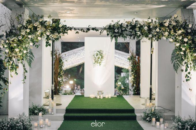 The Wedding Of David & Felicia by Elior Design - 019