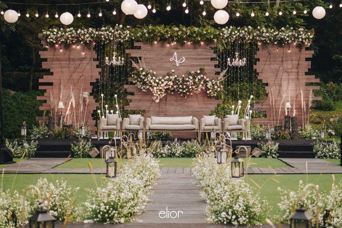 The Wedding of Adrian & Viola by Elior Design - 001
