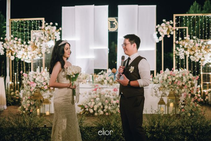 The Wedding of David & Bianca by Elior Design - 009