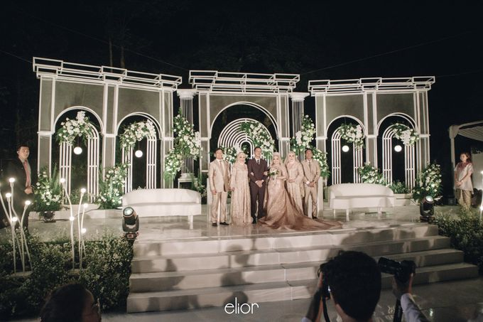 The Wedding of Bela and Didi by Elior Design - 009