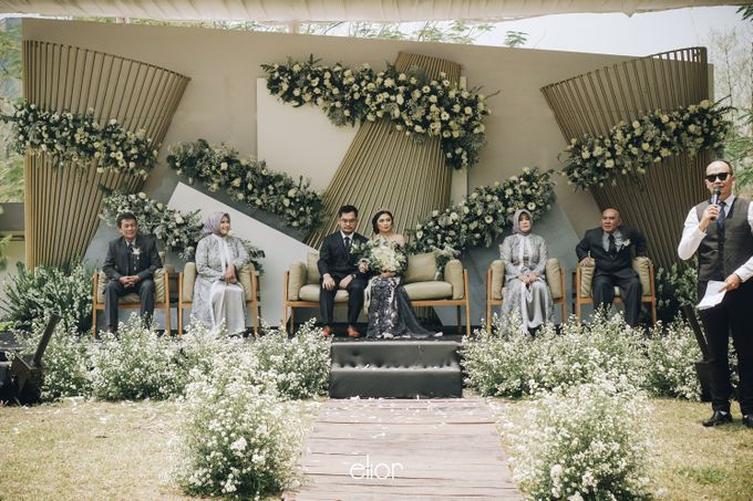 The Wedding of Muthia & Hary by Elior Design - 011