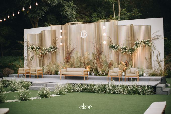 The Wedding of Budiman and Eunike by Elior Design - 012