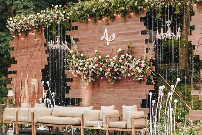 The Wedding of Adrian & Viola by Elior Design - 002