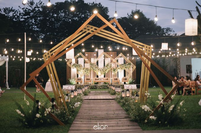 The Wedding of Henry and Stefanie by Elior Design - 016