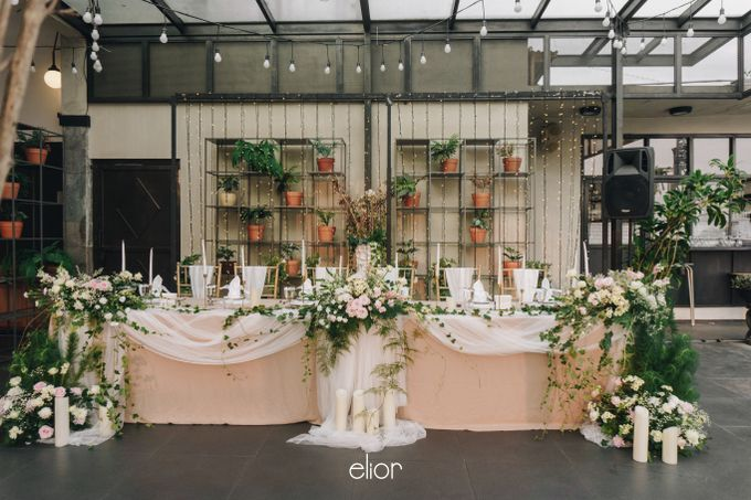 The Wedding of Novilia & Didik by Elior Design - 004