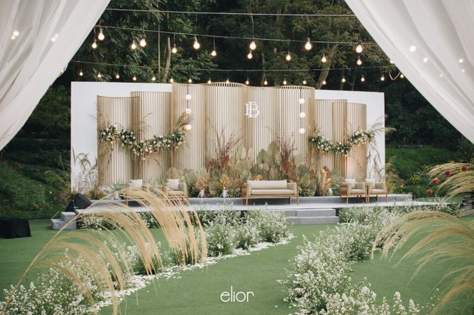 The Wedding of Budiman and Eunike by Elior Design - 013