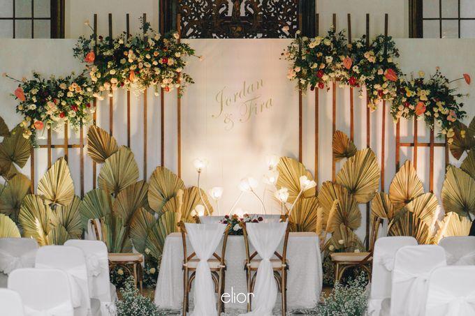 The Wedding of Fira & Jordan by Elior Design - 014