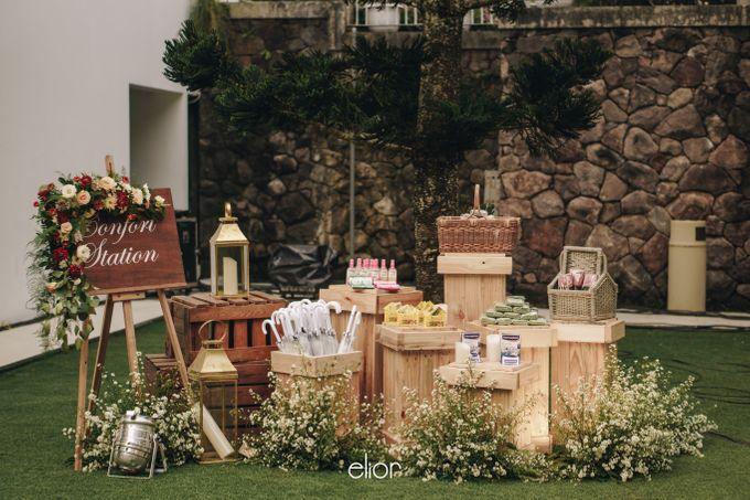 The Wedding of Adrian & Viola by Elior Design - 003