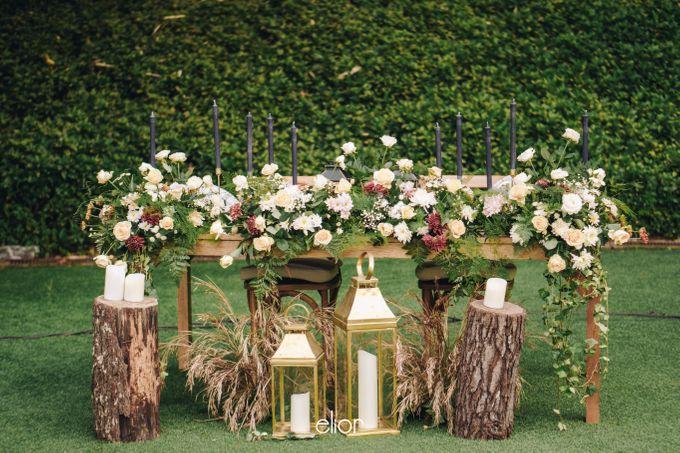 The Wedding of Adrian & Viola by Elior Design - 004