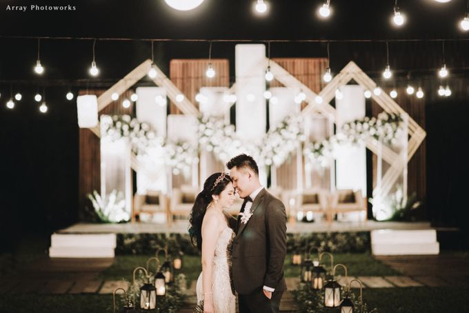 The Wedding of Henry and Stefanie by Elior Design - 017