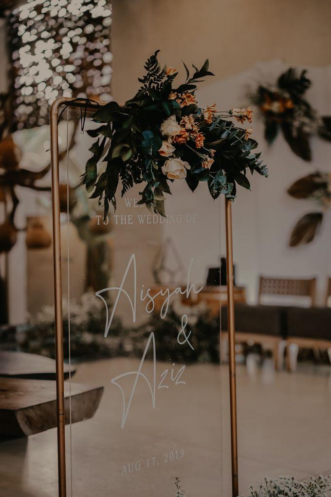 Aisyah & Aziz Wedding at Azila Villa by AKSA Creative - 002