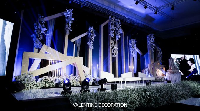 Jason & Devina Wedding Decoration by Valentine Wedding Decoration - 008