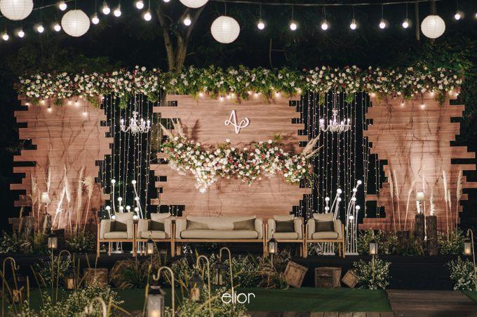 The Wedding of Adrian & Viola by Elior Design - 005