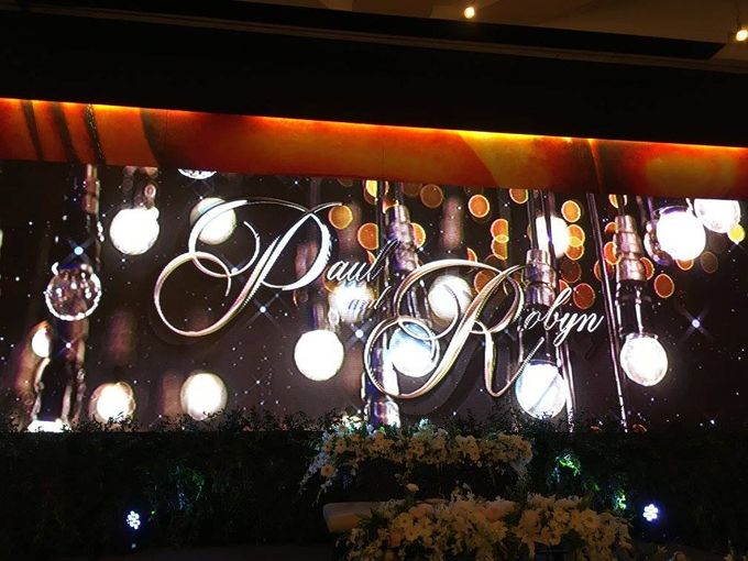 Paul and Robyn Wedding at Sofitel Manila Grand Ballroom by Orange Lights and Sounds Inc. - 009