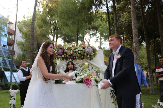 Tatyana & Vladimir Kazakh Wedding in Antalya by Wedding City Antalya - 010