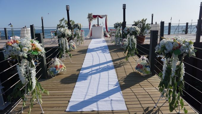 Wedding by the sea in Antalya -Lucy & Daniel- by Wedding City Antalya - 008