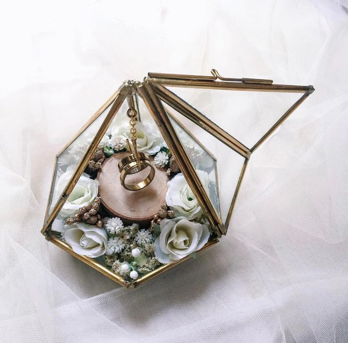 Ring Box by Rose For You - 009