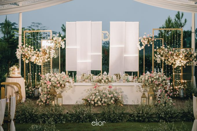 The Wedding of David & Bianca by Elior Design - 011