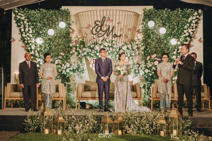 The Wedding of Monique & Gabriel by Elior Design - 009