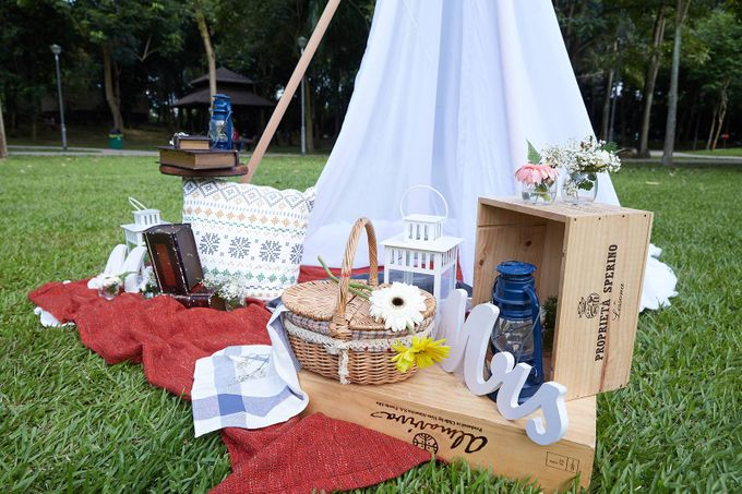 Picnic Wedding at the Park by Megu Weddings - 009