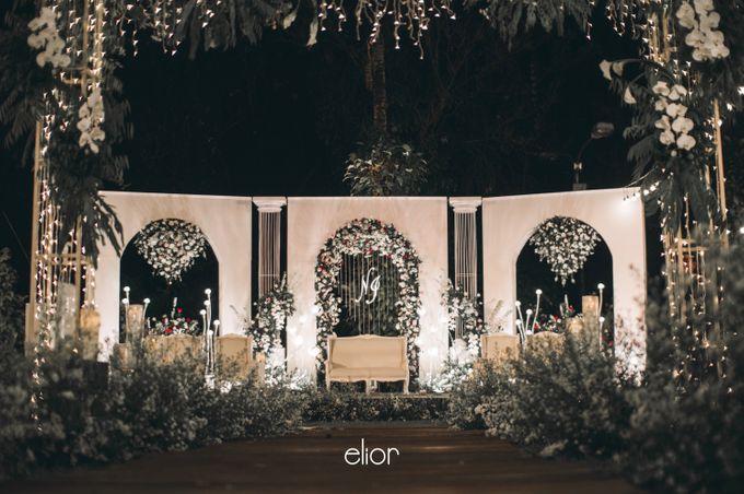 The Wedding of Nadia and Irham by Elior Design - 013