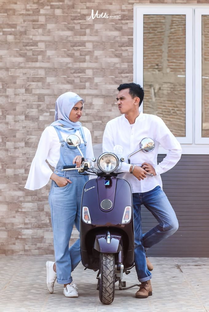 Prewedding Gery & Intan by Molds Moment - 001
